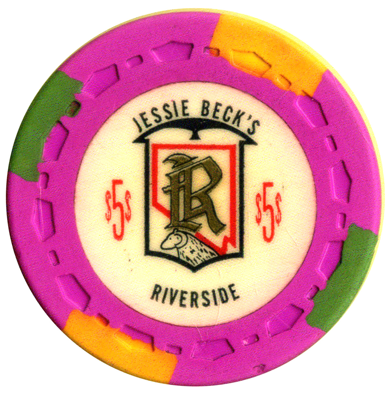 Riverside (Jessie Becks) Casino Reno NV $1 Chip 1971   eBay